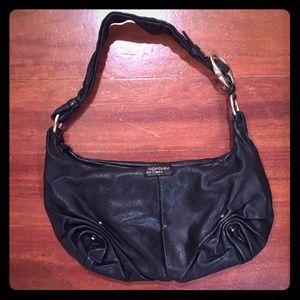 Authentic Yves Saint Laurent Black Hobo Bag